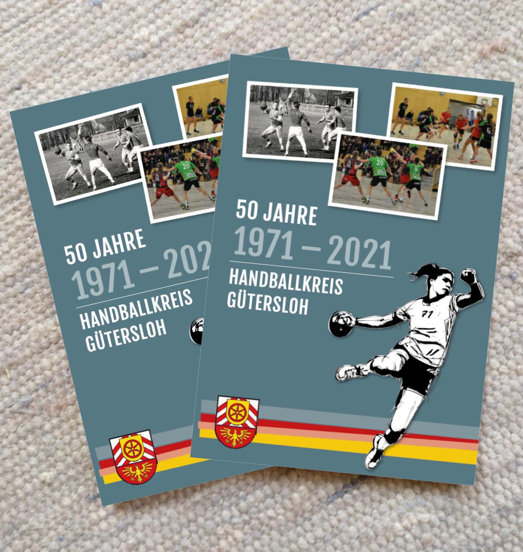 Chronik zum 50. jährigen Jubiläum des Handballkreis Gütersloh e.V.